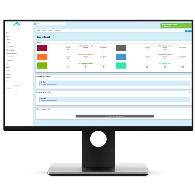 By drawing data from across the system, our integrated GRC solution helps to predict the time, cost and financial impact of any risk events with exceptional accuracy and insight.